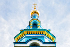Orthodox church of St. Grand Duke. In Jurmala, Dubulti, Latvia Royalty Free Stock Images
