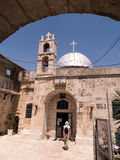 Orthodox church of St. John the Baptist in old Jerusalem, Israel Royalty Free Stock Image