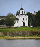 Orthodox church of St. Michael of Tver. Stock Image