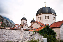 Orthodox church St. Nicholas in Kotor Royalty Free Stock Images
