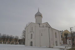 Orthodox Church. Of St. Sergius of Radonezh of the 15th century, Novgorod the Great, Russia Royalty Free Stock Image