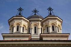 Orthodox church steeple Stock Photos