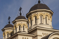 Orthodox church steeple Royalty Free Stock Images