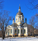 Orthodox church in Stockholm Royalty Free Stock Images
