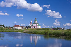 Orthodox church. Suzdal Stock Photos