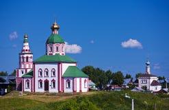 Orthodox church. Suzdal Stock Photo