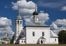 Orthodox church. Suzdal Royalty Free Stock Images