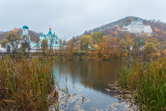 Orthodox church in Svyatogorsk, Donetsk Region Stock Photography