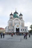 Orthodox Church Tallinn, Estonia Stock Photo