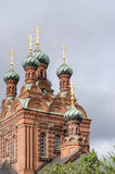 Orthodox church in Tampere Royalty Free Stock Photos