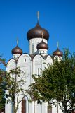 Orthodox Church. Temple of All Saints, Uman, Cherkaska oblast, U. Kraine Royalty Free Stock Photos