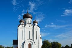 Orthodox Church. Temple of All Saints, Uman, Cherkaska oblast, U. Kraine Stock Photo