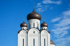 Orthodox Church. Temple of All Saints, Uman, Cherkaska oblast, U. Kraine Stock Image