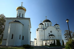 Orthodox church temple Royalty Free Stock Photo