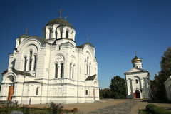 Orthodox church temple Royalty Free Stock Photos