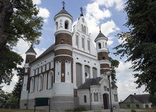 Orthodox church. In the 16th century defensive type Stock Photo