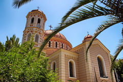 Orthodox Church in Thessaloniki Stock Photo