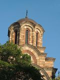Orthodox church tower, Belgrade, Serbia Royalty Free Stock Images