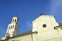Orthodox church towers Royalty Free Stock Image