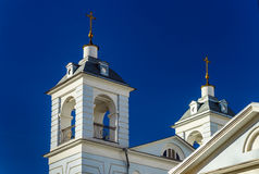 Orthodox church towers, Moscow, Russia Stock Photos
