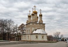 Orthodox church of The Transfiguration. Ryazan city, Russia Royalty Free Stock Photo