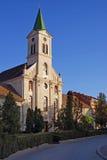 Orthodox church in transylvania stock photo