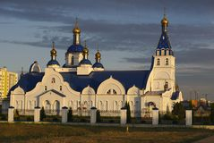 Orthodox Church. A typical Slavic Orthodox Church in Eastern Europe Royalty Free Stock Photo