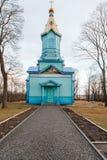 Orthodox church in Ukraine. Orthodox church in Village. Ukraine stock photography