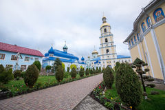 Orthodox church in the village of Bancheni Stock Photos