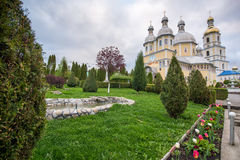 Orthodox church in the village of Bancheni Stock Image