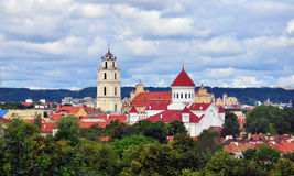 Orthodox church in Vilnius Stock Photo