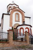 Orthodox church in Vrsac - St. Theodore Royalty Free Stock Photography