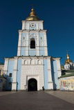 Orthodox church and wall murals, Kyiv Royalty Free Stock Photography