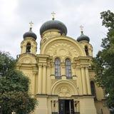 Orthodox Church from Warsaw, Poland Royalty Free Stock Photo