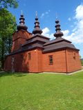 Orthodox Church in Wysowa 2. Beautiful orthodox church in the southern Polish Wysowa Royalty Free Stock Photos