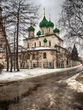 Orthodox Church in Yaroslavl Royalty Free Stock Photo