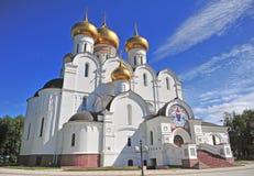 Orthodox church in Yaroslavl Royalty Free Stock Photo