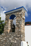 Orthodox church in Zia. Kos Island , Greece Royalty Free Stock Photography