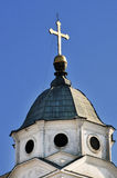 The Orthodox churches with crosses in Smederevo Stock Image