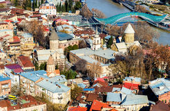Orthodox churches in the old town of Tbilisi Royalty Free Stock Photo