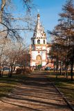 Orthodox churches. Russia, Siberia, Irkutsk. Royalty Free Stock Photo
