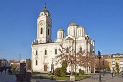 The Orthodox churches in Smederevo Royalty Free Stock Images