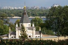 Orthodox Churh on territory of Kiyv-Pechersk Lavra Stock Images
