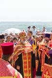 Orthodox clergymen. Stock Photography