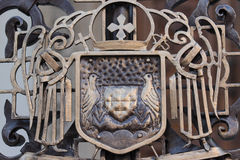 Orthodox crest at Romanian Patriarchal Palace Stock Images