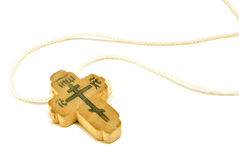Orthodox cross Stock Photo