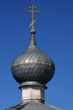 Orthodox Cross and a Dome Royalty Free Stock Photo