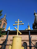 Orthodox cross Stock Photography