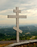 Orthodox cross Stock Photos