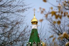 Orthodox cross Royalty Free Stock Photos